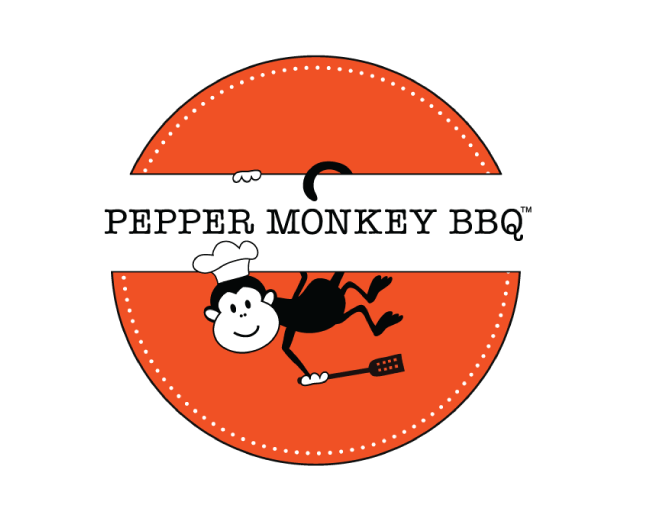 Pepper Monkey BBQ Logo
