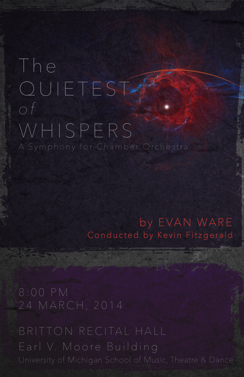 Quietest of Whispers Symphony Poster