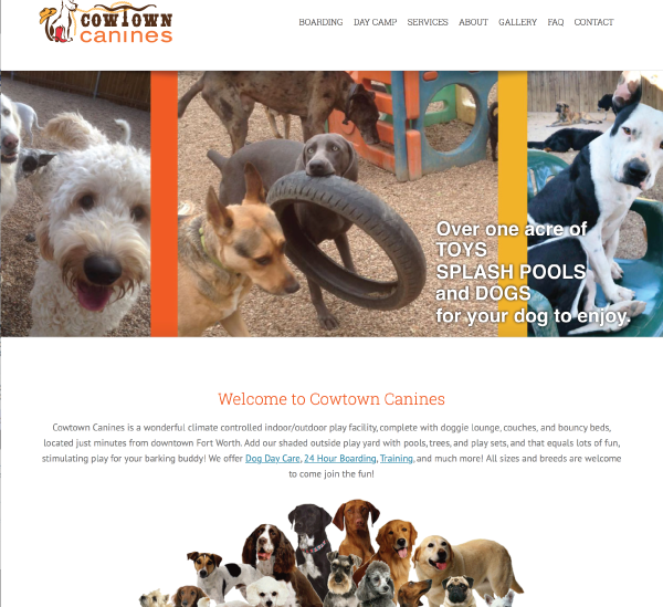 Cowtown Canines Website