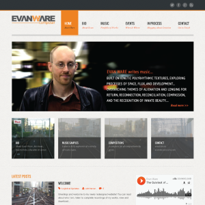 Evan Ware Composer Website
