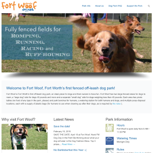 Fort Woof Website