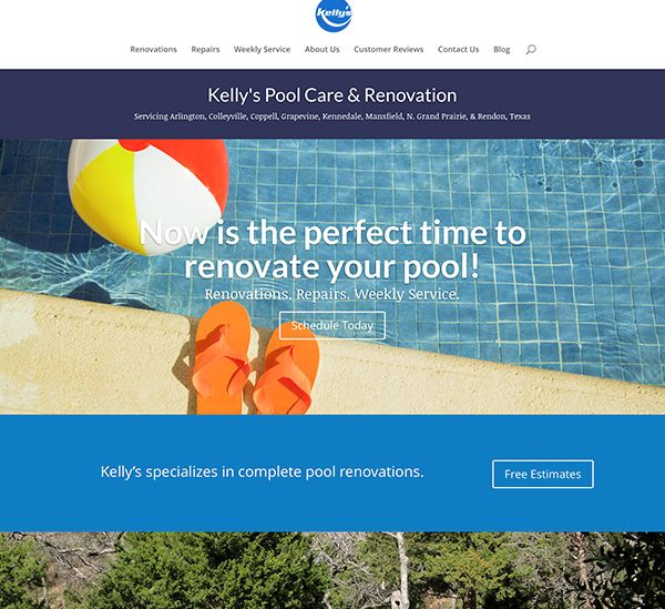 Kelly's Pool Care & Renovation